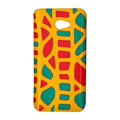 Abstract decor HTC Butterfly S/HTC 9060 Hardshell Case