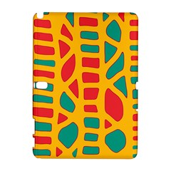 Abstract decor Samsung Galaxy Note 10.1 (P600) Hardshell Case