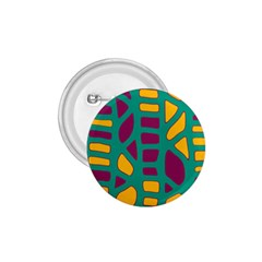 Green, purple and yellow decor 1.75  Buttons