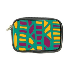 Green, purple and yellow decor Coin Purse