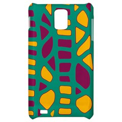 Green, purple and yellow decor Samsung Infuse 4G Hardshell Case