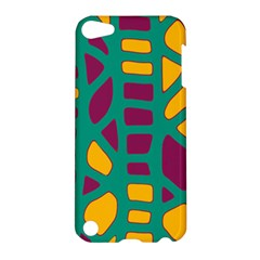 Green, purple and yellow decor Apple iPod Touch 5 Hardshell Case