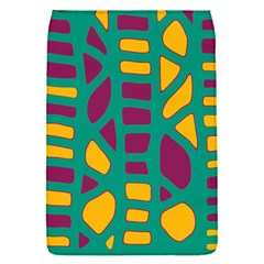 Green, purple and yellow decor Flap Covers (S)