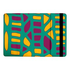 Green, purple and yellow decor Samsung Galaxy Tab Pro 10.1  Flip Case