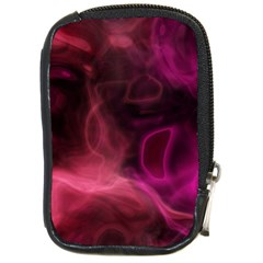Pink red texture                                                                                              Compact Camera Leather Case