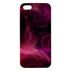 Pink red texture                                                                                             			Apple iPhone 5 Premium Hardshell Case