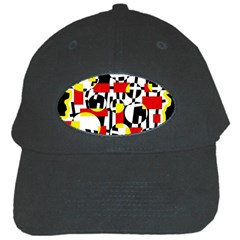 Red and yellow chaos Black Cap