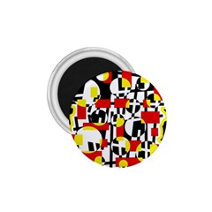 Red and yellow chaos 1.75  Magnets