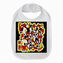 Red and yellow chaos Bib