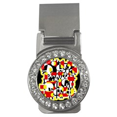 Red and yellow chaos Money Clips (CZ)