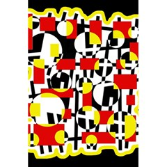Red and yellow chaos 5.5  x 8.5  Notebooks
