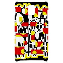 Red and yellow chaos Samsung Infuse 4G Hardshell Case
