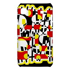 Red and yellow chaos Samsung Galaxy S i9008 Hardshell Case