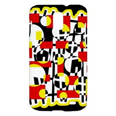Red and yellow chaos Samsung Galaxy S II Skyrocket Hardshell Case