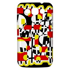 Red and yellow chaos Samsung Galaxy Win I8550 Hardshell Case