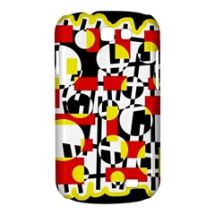 Red and yellow chaos Samsung Galaxy Express I8730 Hardshell Case