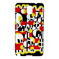Red and yellow chaos Samsung Galaxy Note 3 N9005 Hardshell Case
