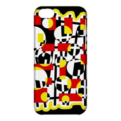 Red and yellow chaos Apple iPhone 5C Hardshell Case