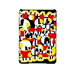 Red and yellow chaos iPad Mini 2 Hardshell Cases