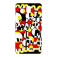 Red and yellow chaos Samsung Galaxy Note 3 N9005 Hardshell Back Case