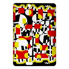Red and yellow chaos Amazon Kindle Fire HD (2013) Hardshell Case