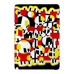 Red and yellow chaos Samsung Galaxy Tab Pro 12.2 Hardshell Case