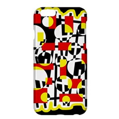 Red and yellow chaos Apple iPhone 6 Plus/6S Plus Hardshell Case