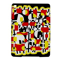 Red and yellow chaos iPad Air 2 Hardshell Cases