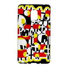 Red and yellow chaos Galaxy Note Edge