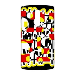 Red and yellow chaos LG G3 Back Case