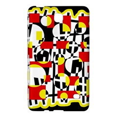 Red and yellow chaos Samsung Galaxy Tab 4 (7 ) Hardshell Case