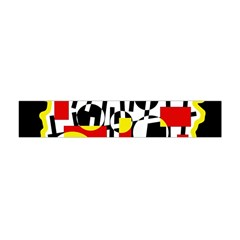 Red And Yellow Chaos Flano Scarf (mini)