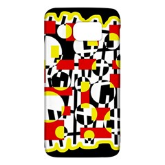 Red and yellow chaos Galaxy S6