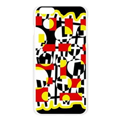 Red and yellow chaos Apple Seamless iPhone 6 Plus/6S Plus Case (Transparent)