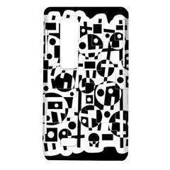 Black and white abstract chaos LG Optimus Thrill 4G P925