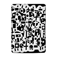Black and white abstract chaos Kindle 4