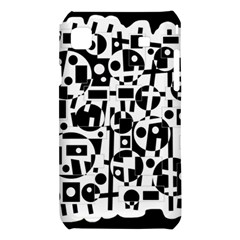 Black and white abstract chaos Samsung Galaxy S i9008 Hardshell Case