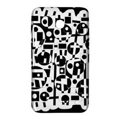 Black and white abstract chaos Nokia Lumia 630