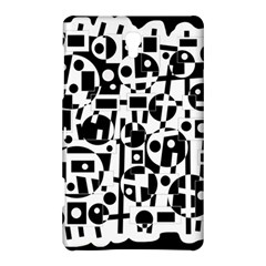 Black and white abstract chaos Samsung Galaxy Tab S (8.4 ) Hardshell Case