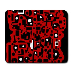 Red Large Mousepads