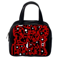 Red Classic Handbags (One Side)