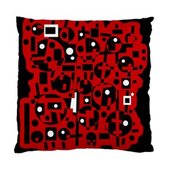 Red Standard Cushion Case (One Side)