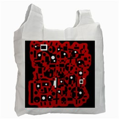 Red Recycle Bag (Two Side)