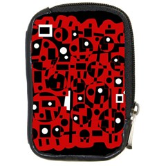 Red Compact Camera Cases