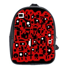 Red School Bags(Large)