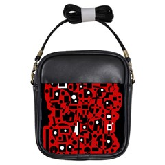 Red Girls Sling Bags
