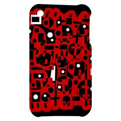 Red Apple iPhone 3G/3GS Hardshell Case