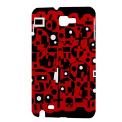 Red Samsung Galaxy Note 1 Hardshell Case