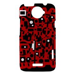 Red HTC One X Hardshell Case