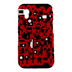 Red Samsung Galaxy Ace S5830 Hardshell Case